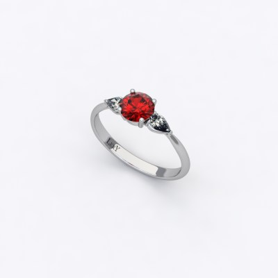solitaire-sienna-rubis-rond-0,50-carats-or-blanc-diamants-poires-0