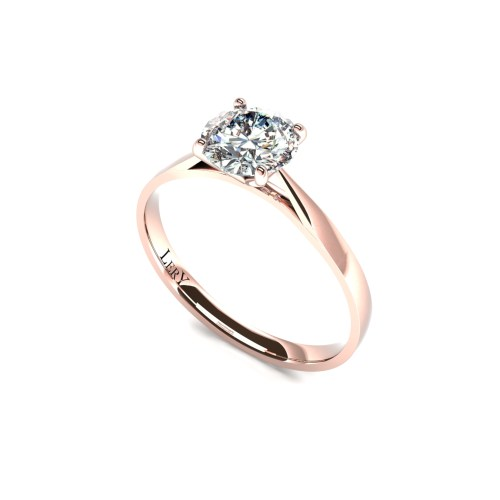 solitaire-corps-milady-or-rose-0.70-carats-diamant-rond-0