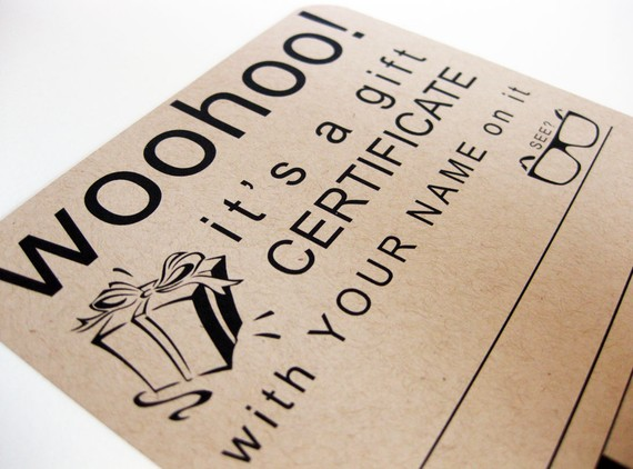 cool gift certificate designs - Yokkubkireklamowe