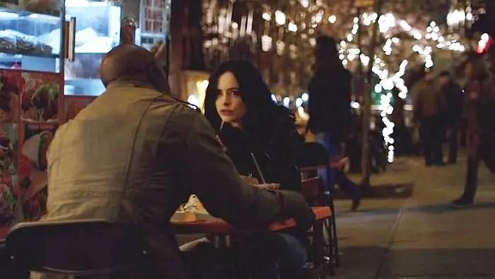 Luke y Jessica comiendo