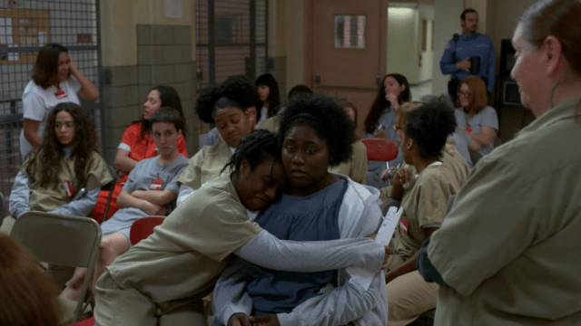 """A mis brazos, mamá Taystee"""