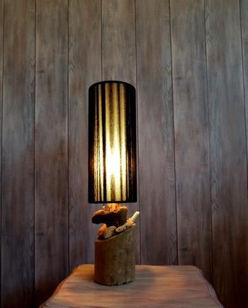 lampe bois flotte cap ferret siguna