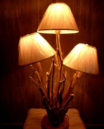 lampe bois flotte cap ferret tridiano