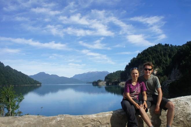 Petite pause devant un magnifique fjord