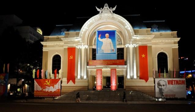 Saigon Opera House, Ho Chi Minh City, Vietnam
