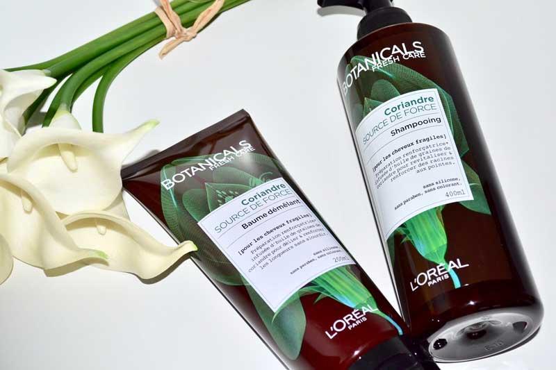 botanicals fresh care force coriandre l'oréal paris force coriandre