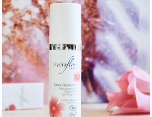 masque ressourcant rose musquee hydraflore bio les deboires de carlita