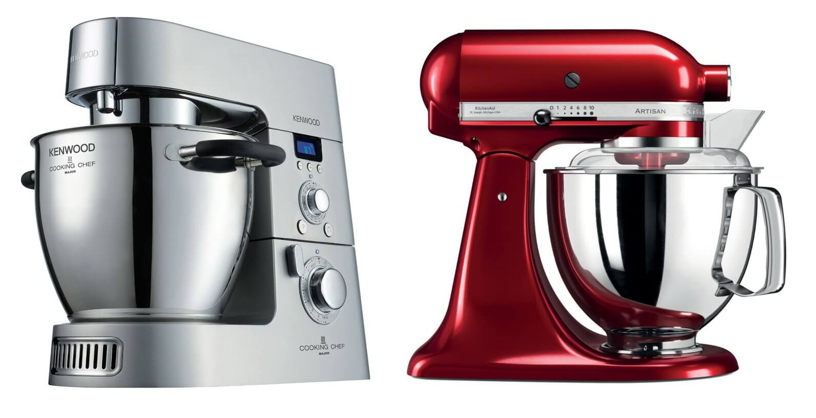 Comparatif Robot Patissier Kenwood Et Kitchenaid Kenwood Vs Kitchen Aid Quels Sont Les Meilleurs Robots
