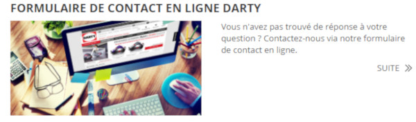 Darty Contact Comment Contacter Le Service Client Darty? - Contact