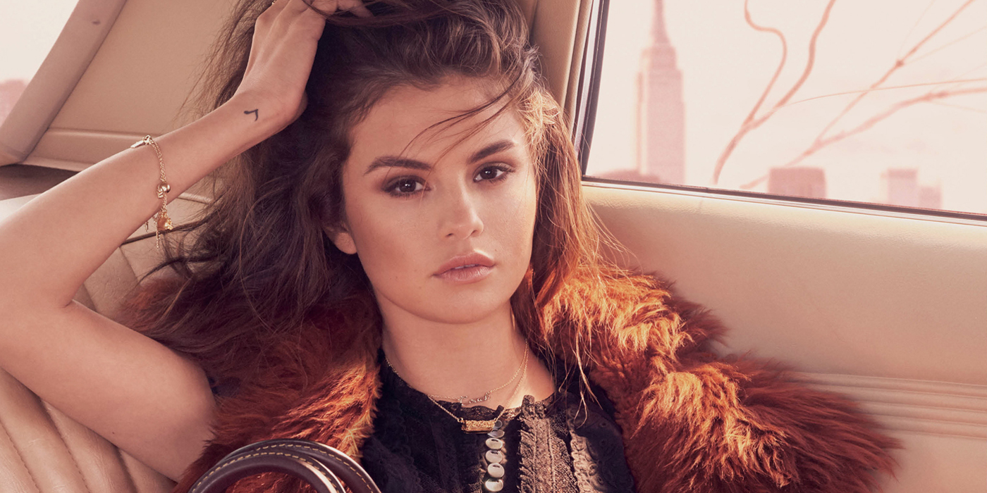 Wallpaper Surfer Girl Coach Fall 2017 Ad Campaign Featuring Selena Gomez Les