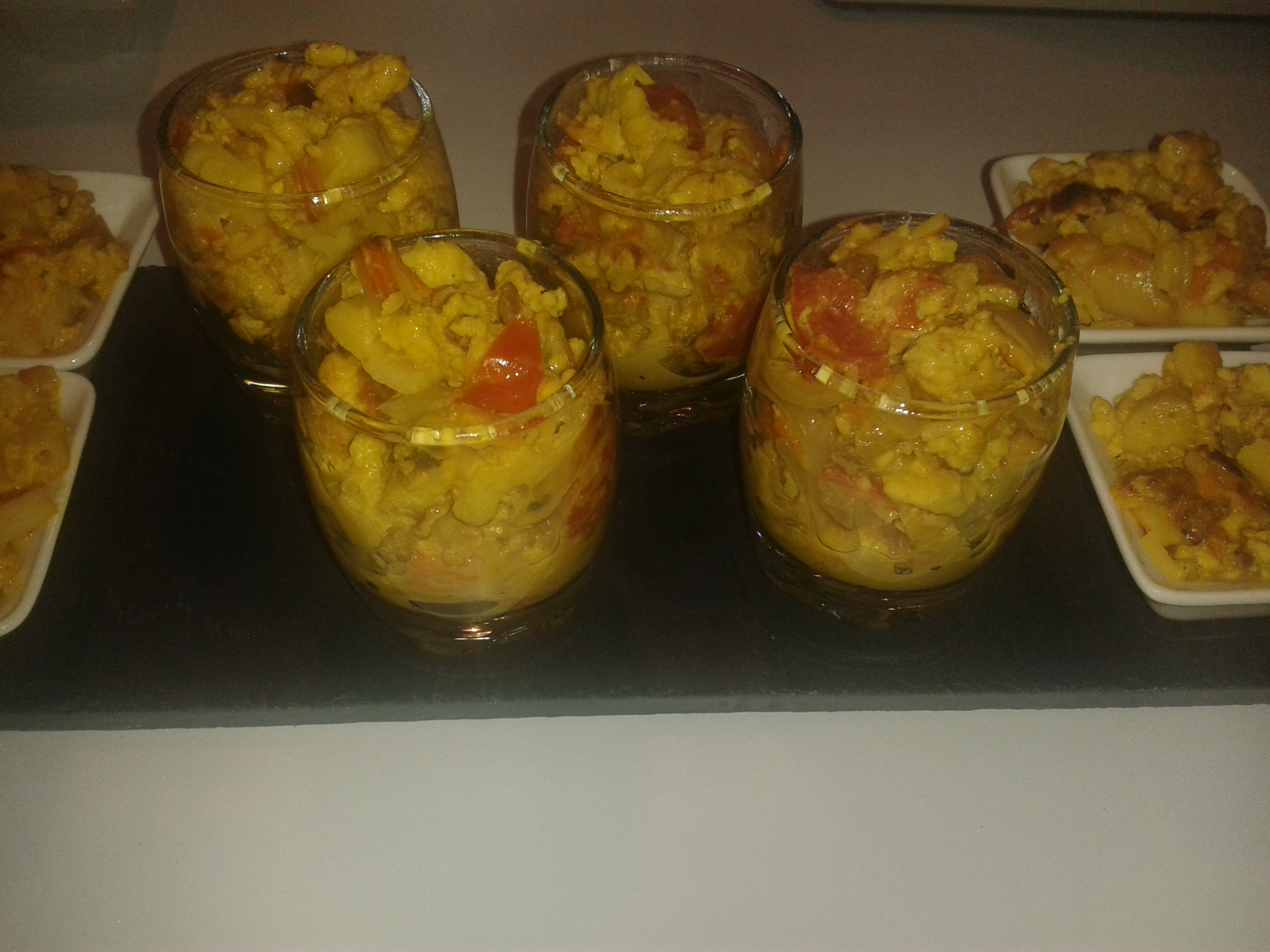 Verrine Apero Grand Chef Verrines Surimi Curry Les Gourmandiz De Tifa