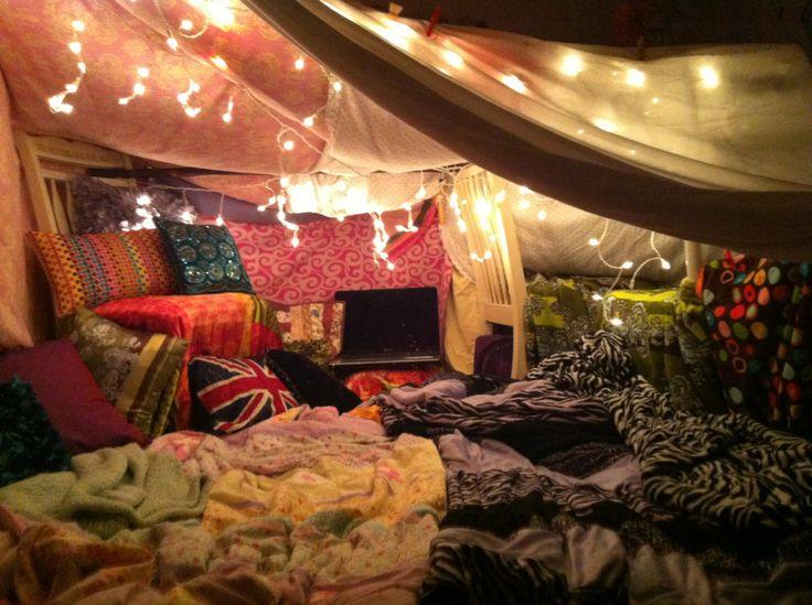 Se Divertir Simplement Les Cabanes En Couvertures
