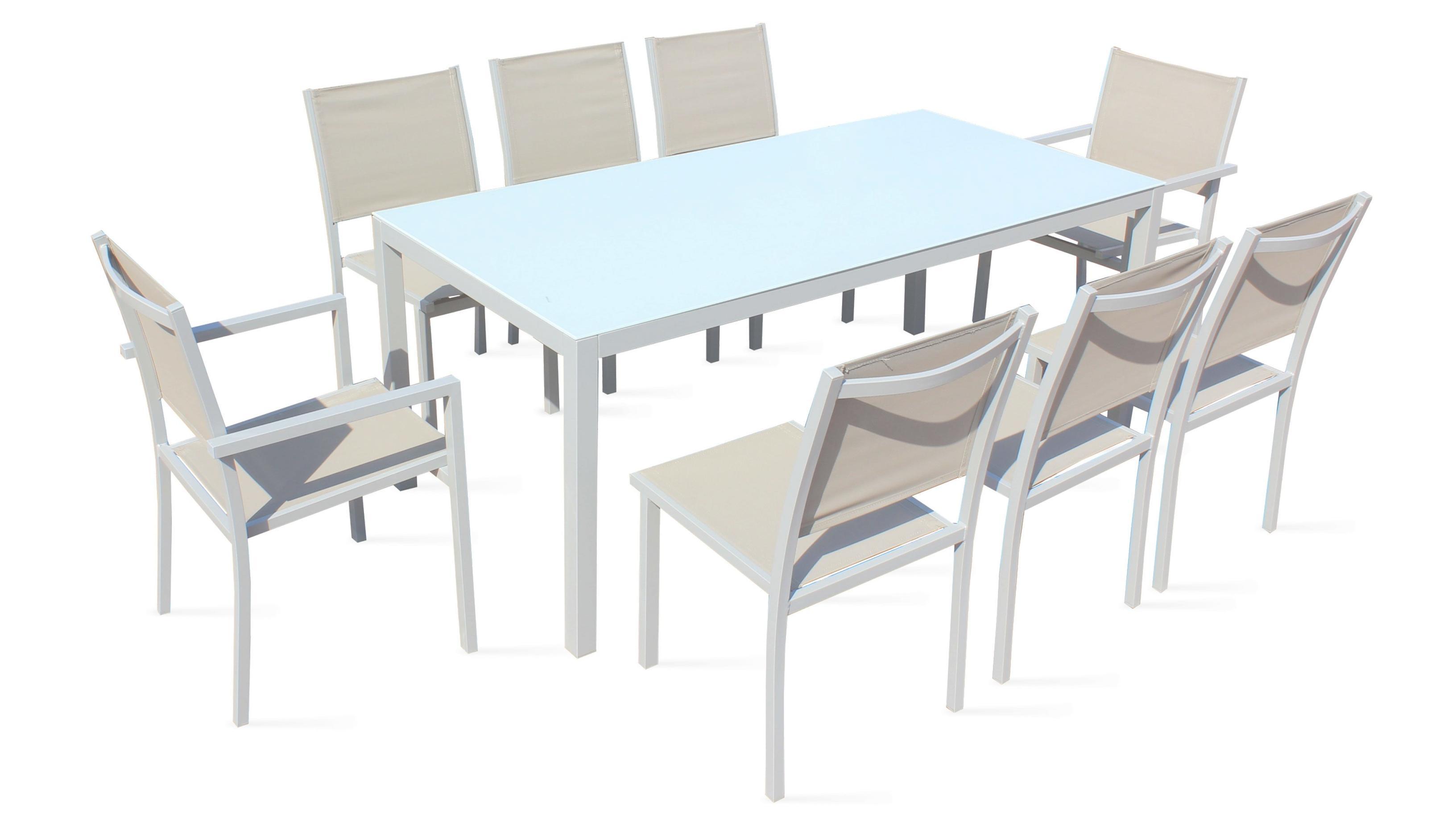 Table Et Chaises De Jardin Mr Bricolage