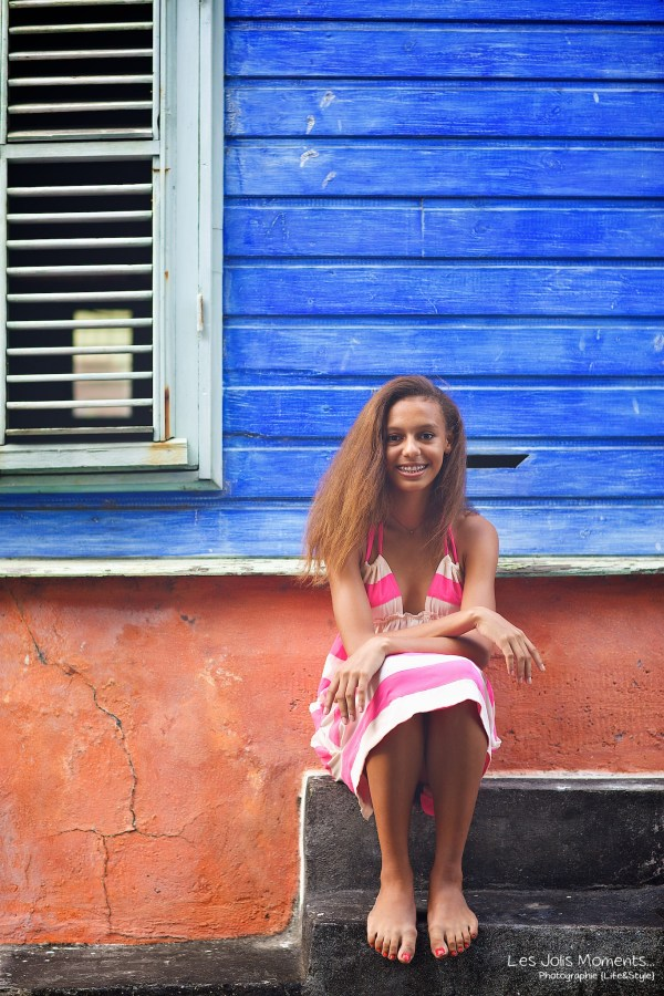 Seance portrait jeune fille metisse Martinique  26