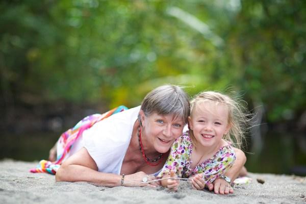 Photos grands parents petits enfants Martinique 1