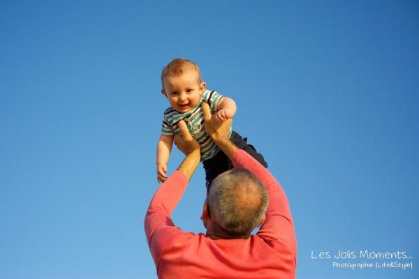 Seance en famille avec bebe dans les Landes 56