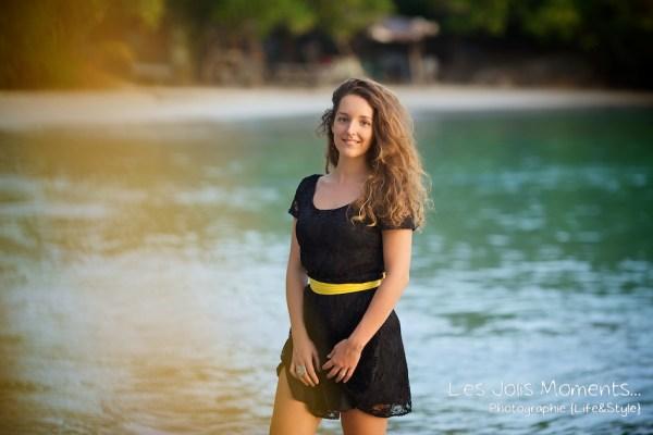 Seance portrait jeune femme martinique 12