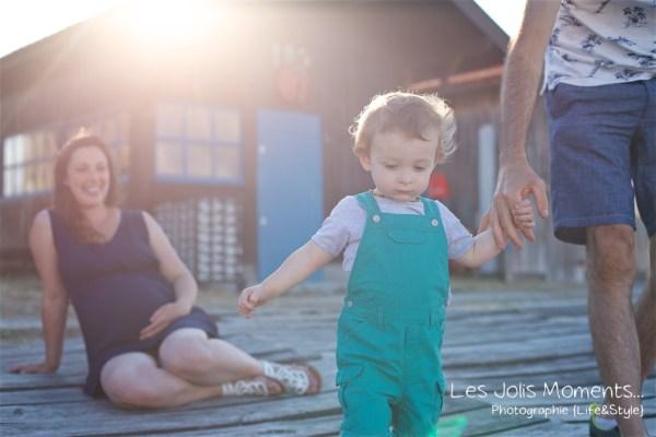 Seance grossesse en famille Bassin Arcachon 14