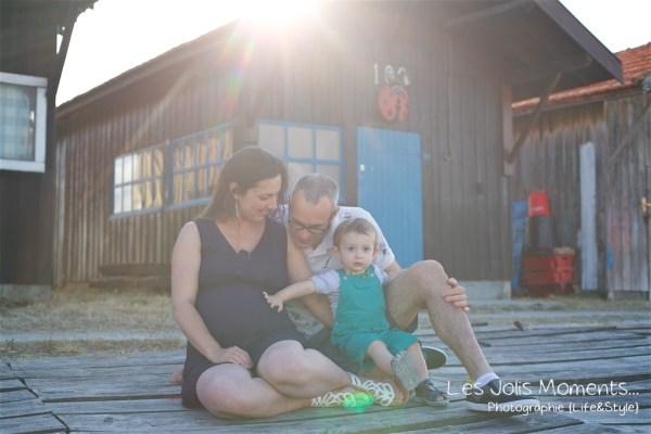 Seance grossesse en famille Bassin Arcachon 15
