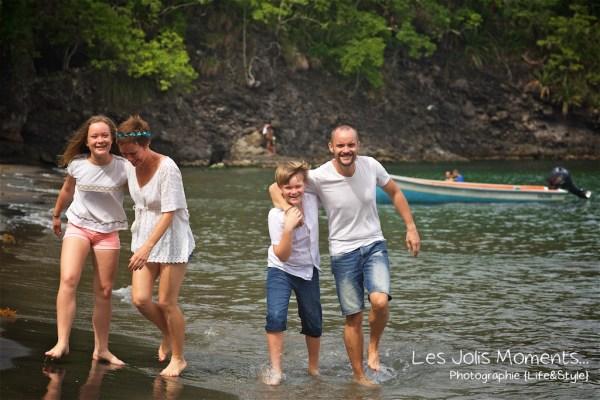 Photos de famille a Anse Noire 11