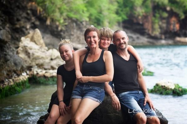 Photos de famille a Anse Noire 17