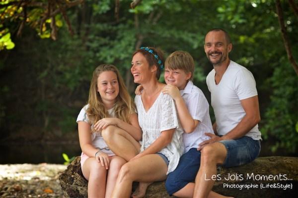 Photos de famille a Anse Noire 3