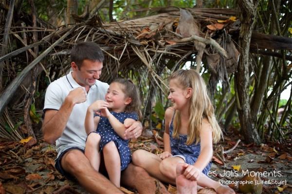 Seance famille en vacances au Diamant 10