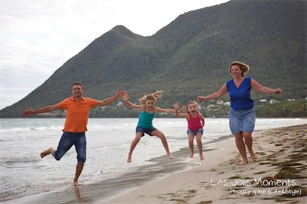 Seance famille en vacances au Diamant 21