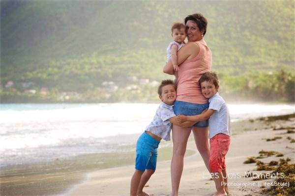 seance famille vacanciers Martinique 1