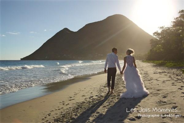 Ceremonie de mariage sur une plage de Martinique 22