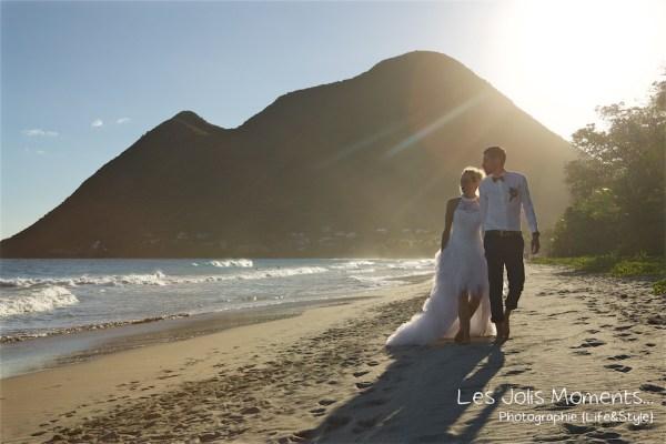 Ceremonie de mariage sur une plage de Martinique 23