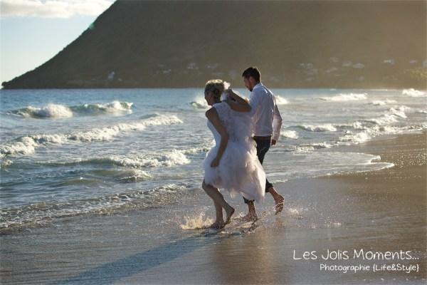Ceremonie de mariage sur une plage de Martinique 26