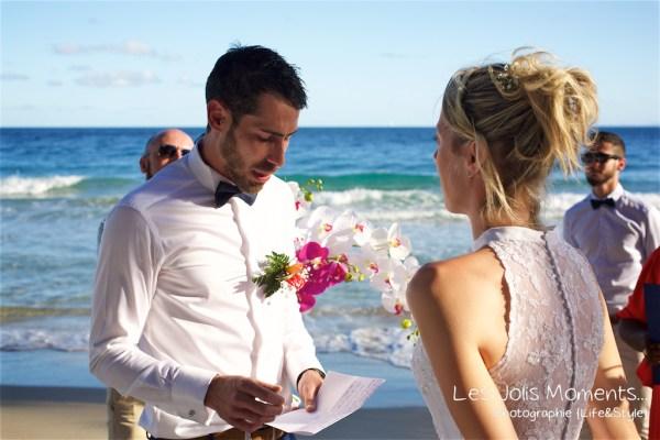 Ceremonie de mariage sur une plage de Martinique (3)