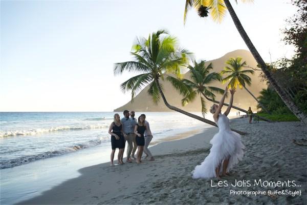 Ceremonie de mariage sur une plage de Martinique 31