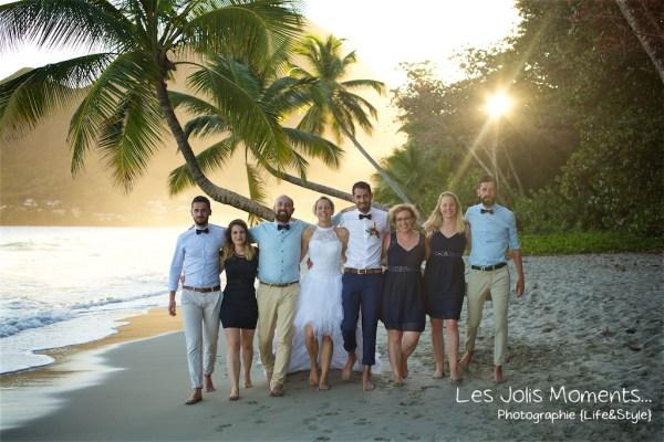 Ceremonie de mariage sur une plage de Martinique 37
