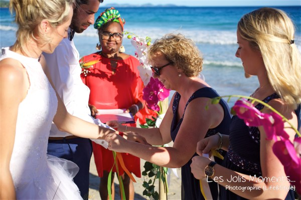 Ceremonie de mariage sur une plage de Martinique 8