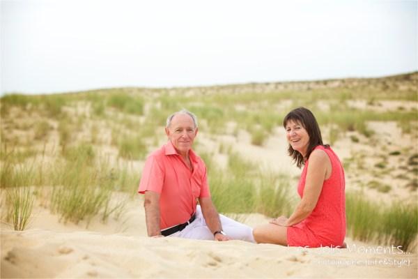 Seance photo dans les dunes des Landes 14