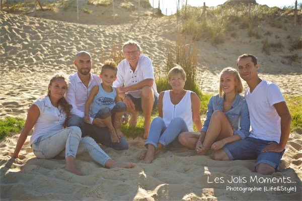 Seance photo grande famille au Courant d huchet 7