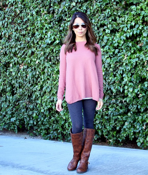 IMG 0554 580x653 Dusky Pink Sweater