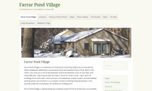 Farrar Pond Village web site