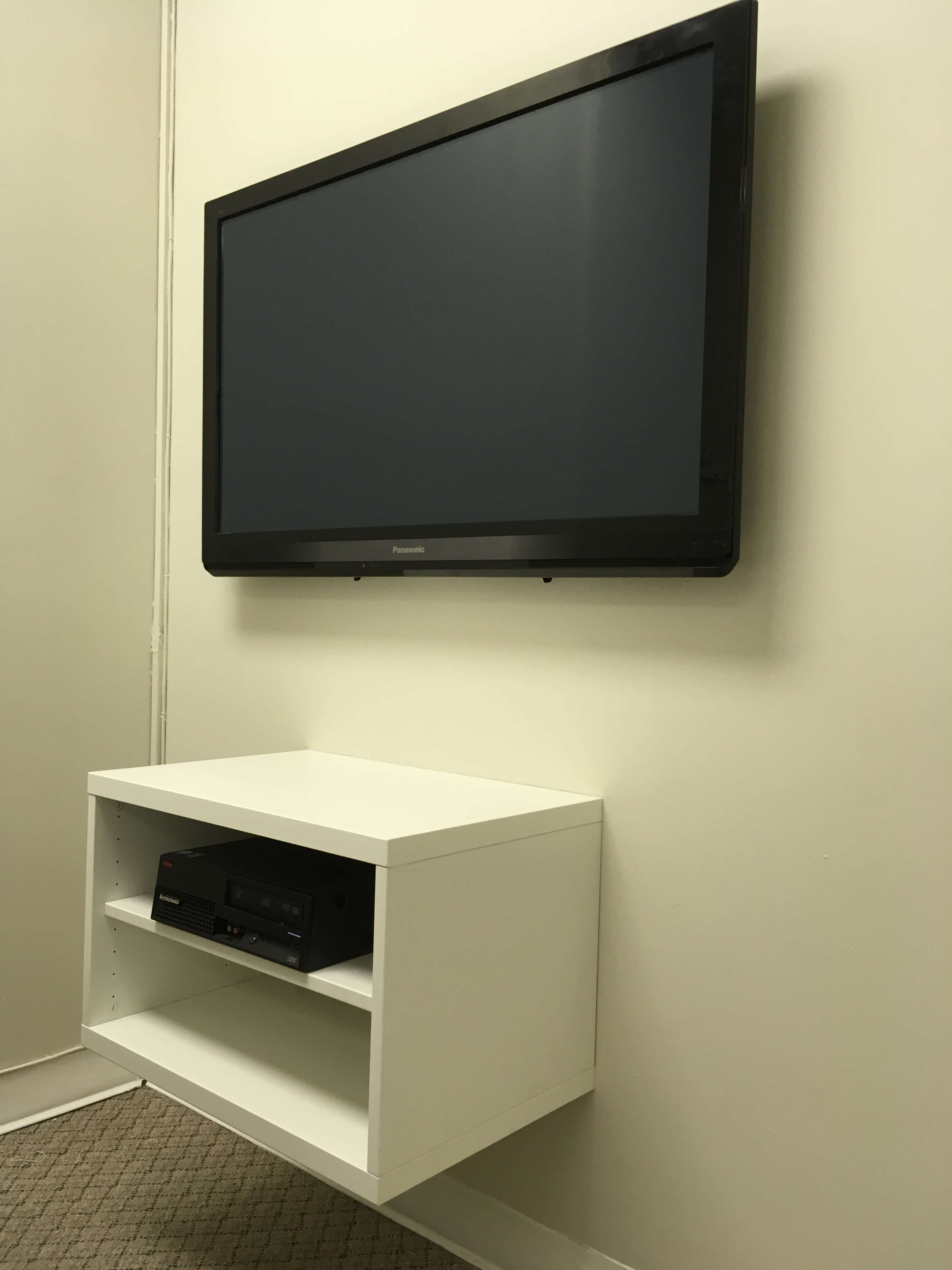 In Wall Media Cabinet Wall Mounted Media Cabinet That Can Hide All Your Cords And