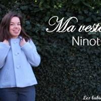 Ma veste Ninot bleue pâle