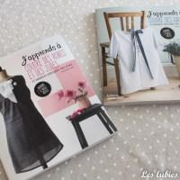 Deux livres pour coudre ses premiers vêtements