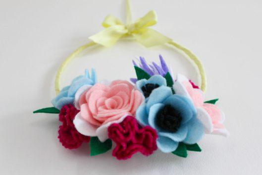 D i y les lubies de louise page 2 - Tuto couronne de fleur ...