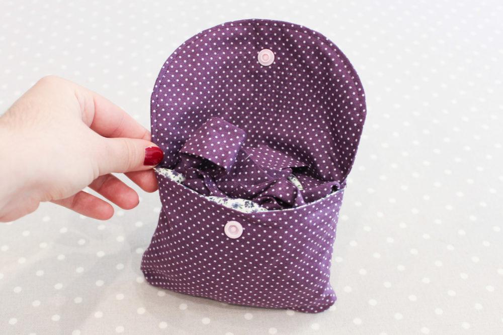 un sac pliable pour les courses diy les lubies de louise. Black Bedroom Furniture Sets. Home Design Ideas