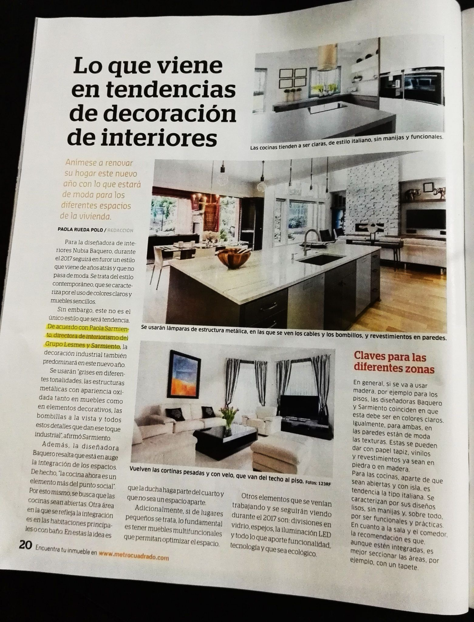 Tendencias De Decoracion De Interiores 2016 Tendencias Y Colores Para El 2017 En Decoración De Interiores