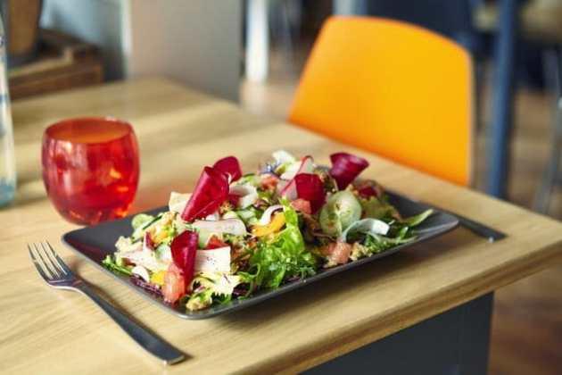 Une salade de Chez nous Grenoble