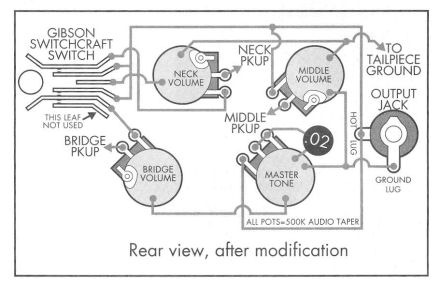 Inside the Les Paul \u2013 Schematics
