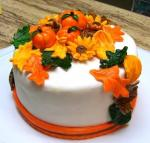 Fall Pumpkin Sheet Cake