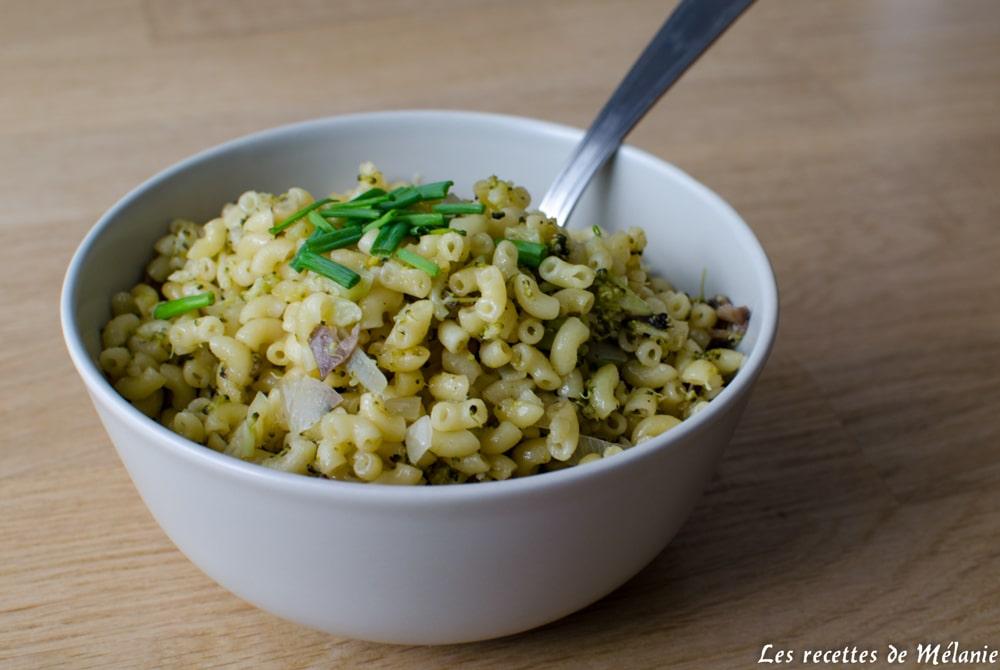 Risotto de coquillettes, champignons et brocoli - En 30 minutes chrono avec le Micro Vap de Tupperware